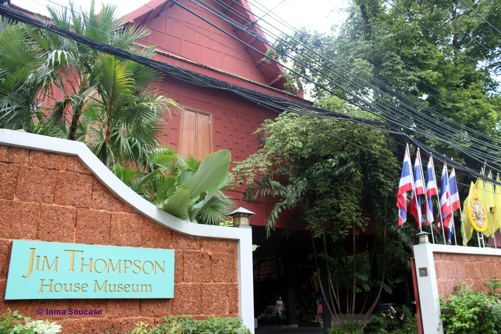 Jim Thompson casa museo - exterior