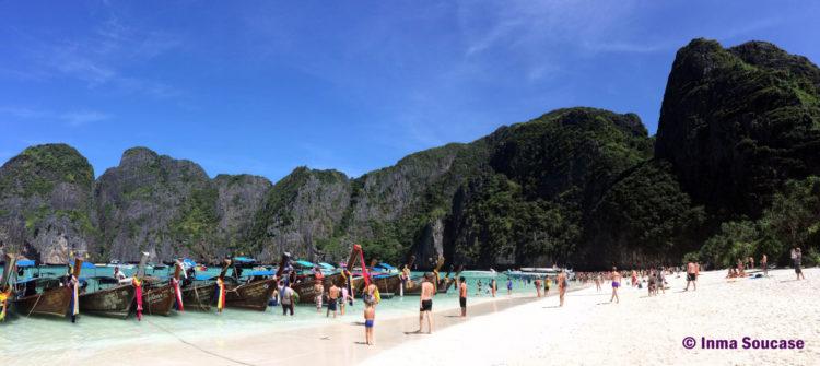 Maya Beach - La playa de Leonardo di Caprio