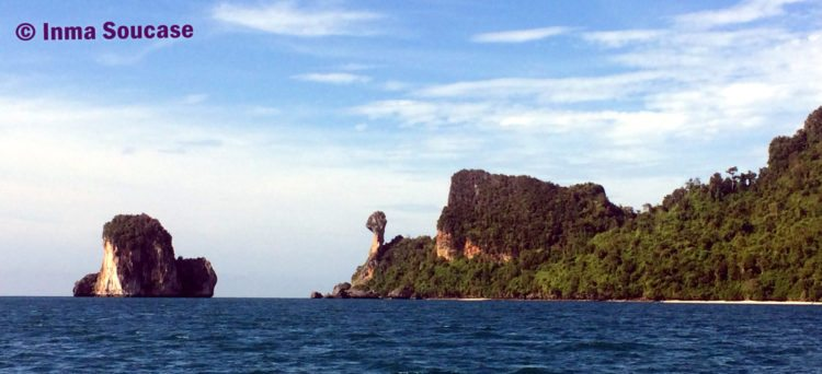 perfil montañas chicken island