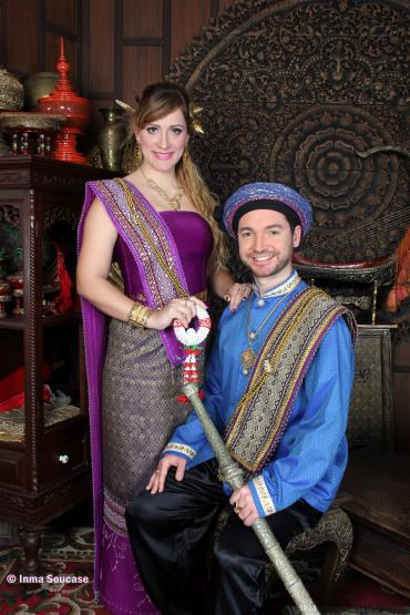 vestidos de tailandeses