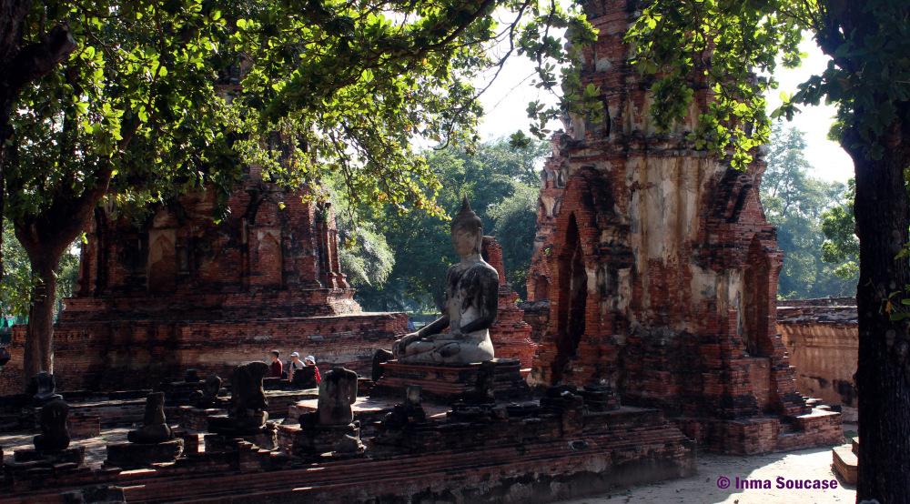 Wat Mahathat - templo en ruinas