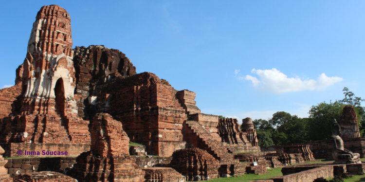 Wat Mahathat - templo restos