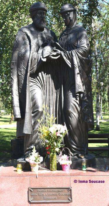 monumento-santos-esposos-peter-and-fevronia-irkutsk