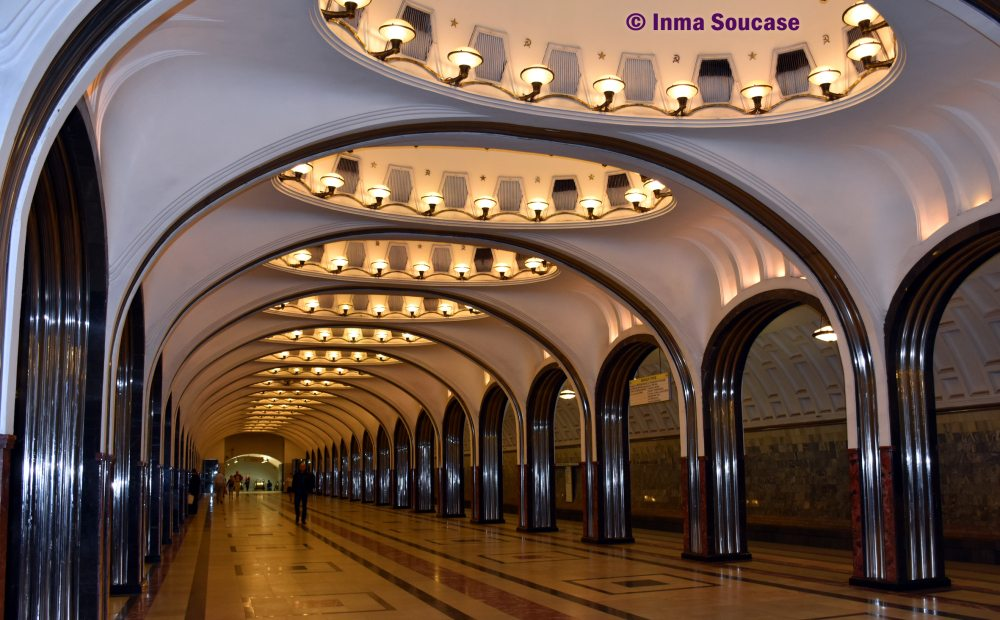 Estación metro Mayakovskaya