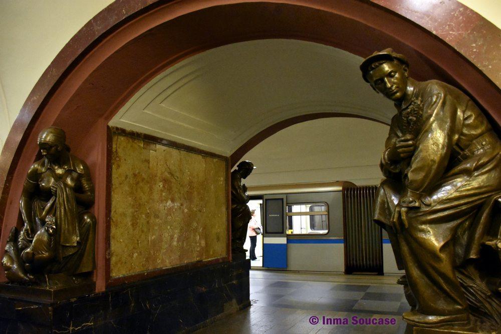 metro Plaza de la Revolución Plochtchad Revolioutsii