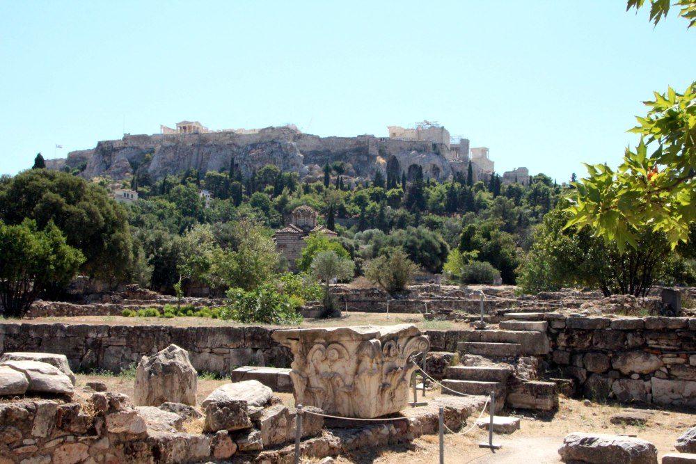 Agora antigua de Atenas