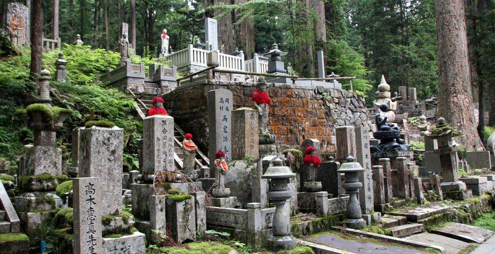 camino cementerio Templo Okuno-in , Koyasan