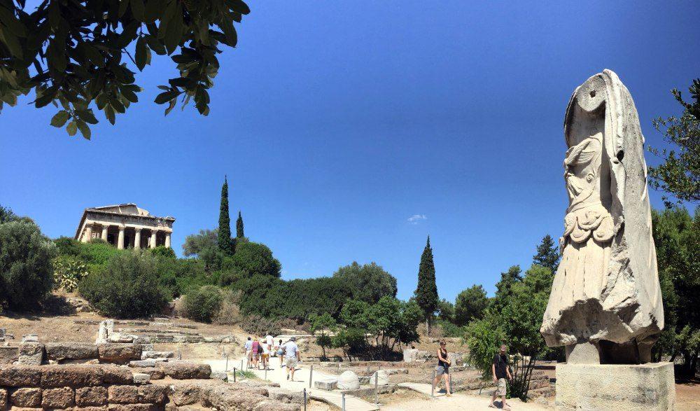 el-templo-de-hefesto-agora-antigua