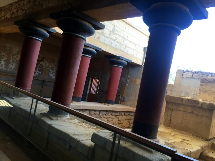 estancia, Palacio de Cnossos