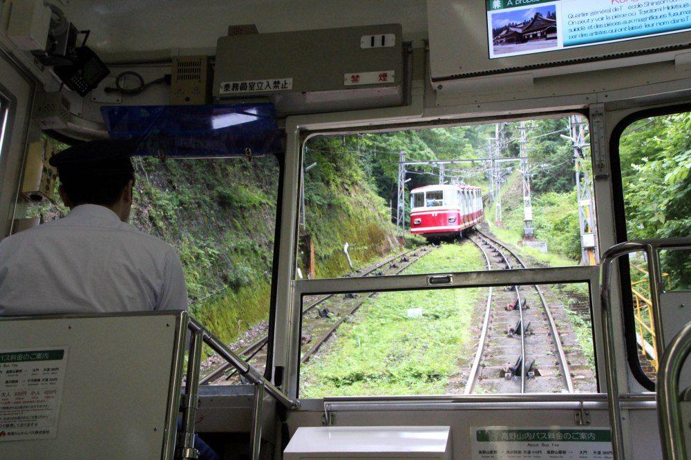 funicular subida Koyasan