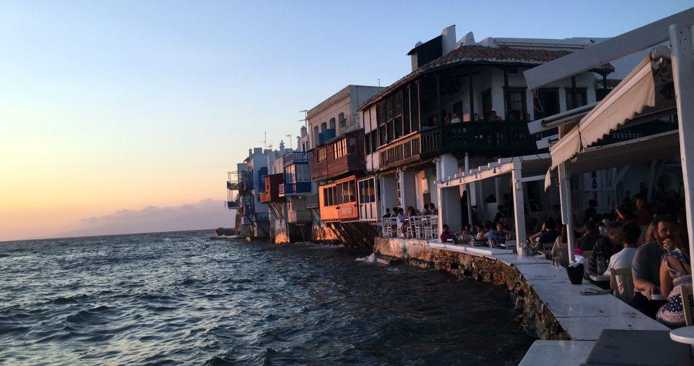 La pequeña Venecia, Mikonos