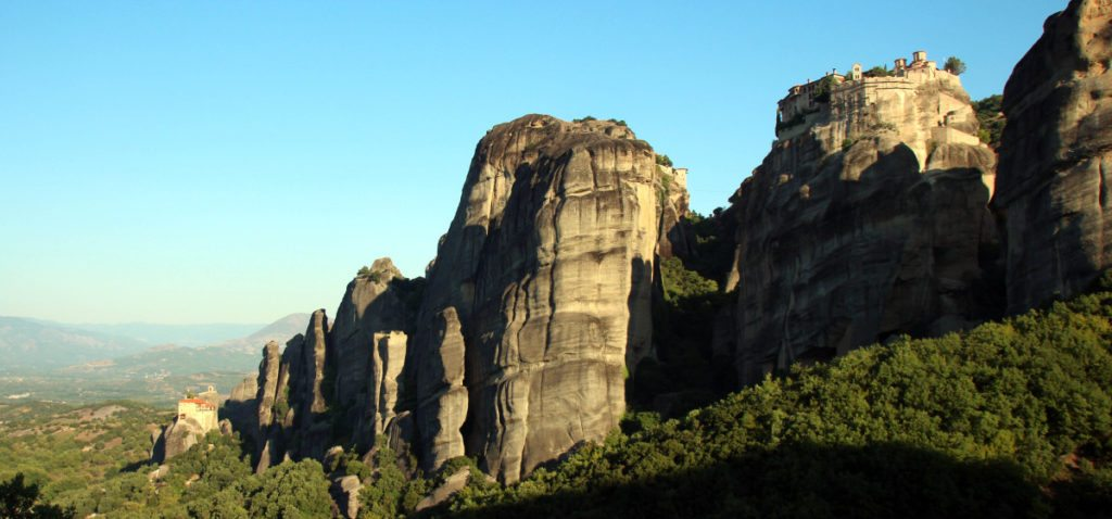 Monasterios Meteora, panoramica