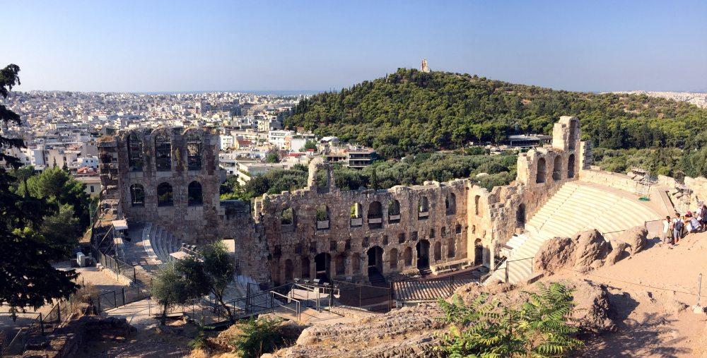 Odeon de Herodes atico, Acropolis Atenas