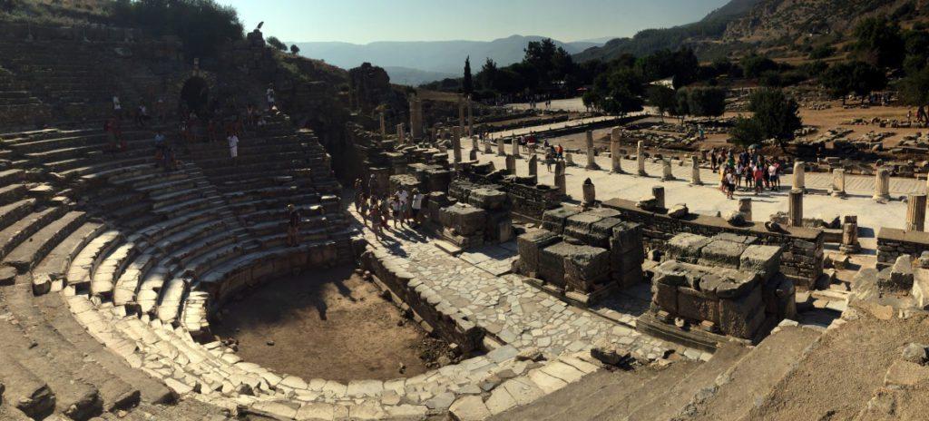 El odeon de Efeso