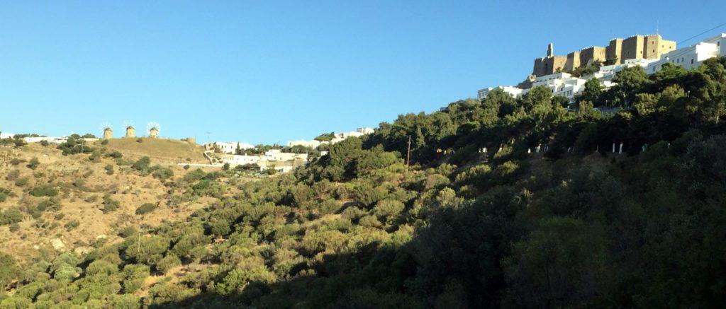 Panoramica Monasterio de San Juan, Patmos