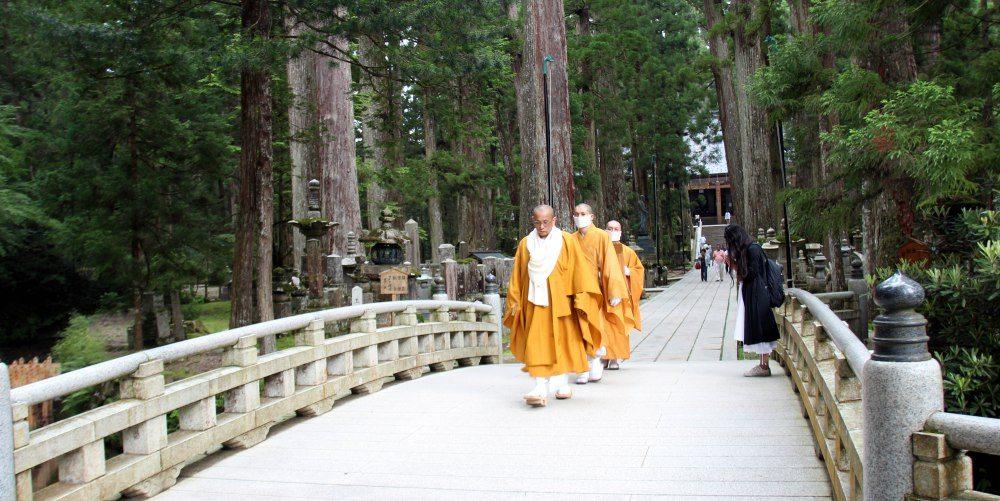 puente Gobyo-bashi , Koyasan