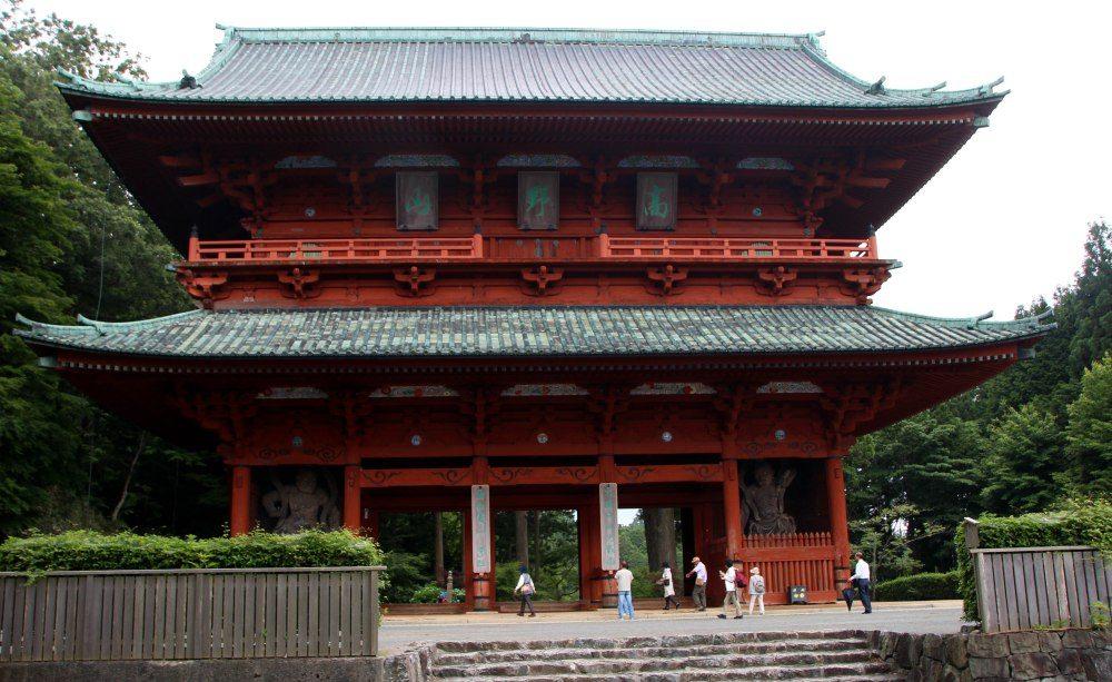 Puerta Daimon-Koyasan