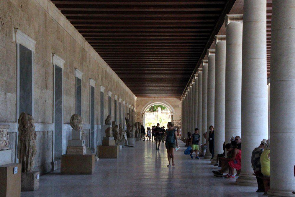 Stoa de atalo, Atenas