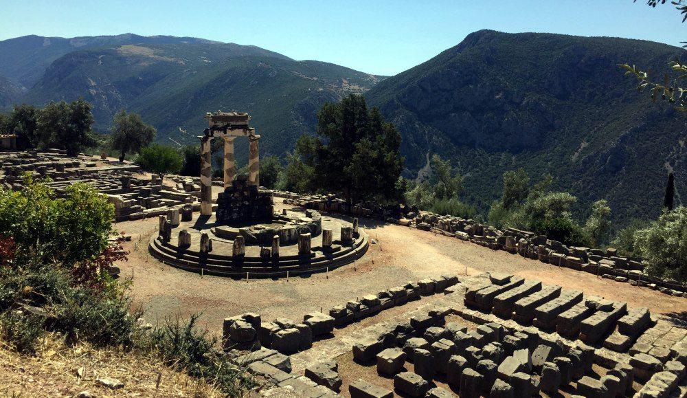 Templo de Atenea, Delfos