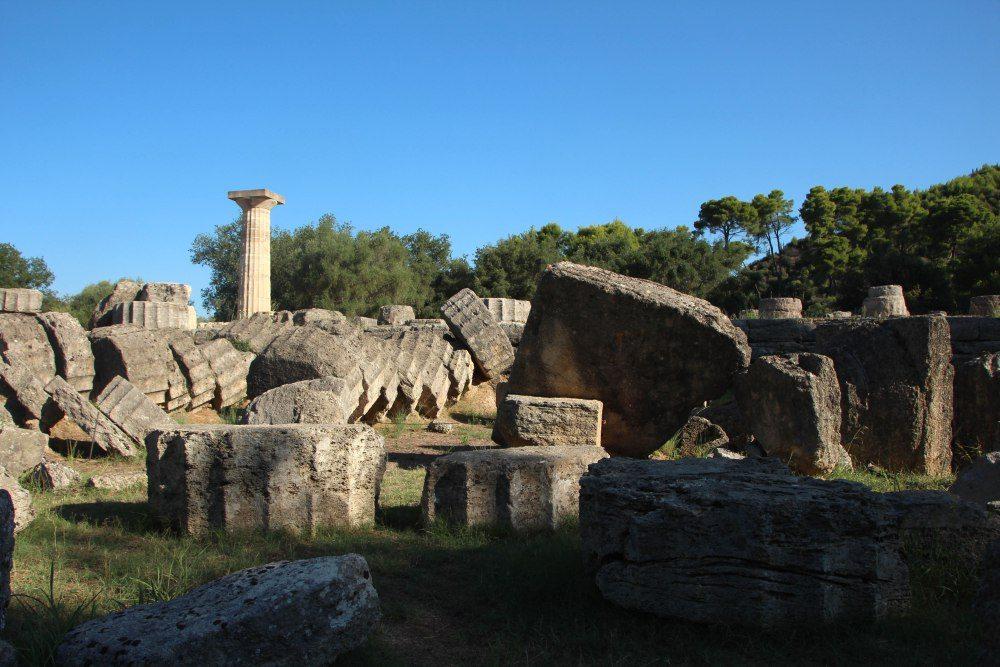 Templo de Zeus en Olympia
