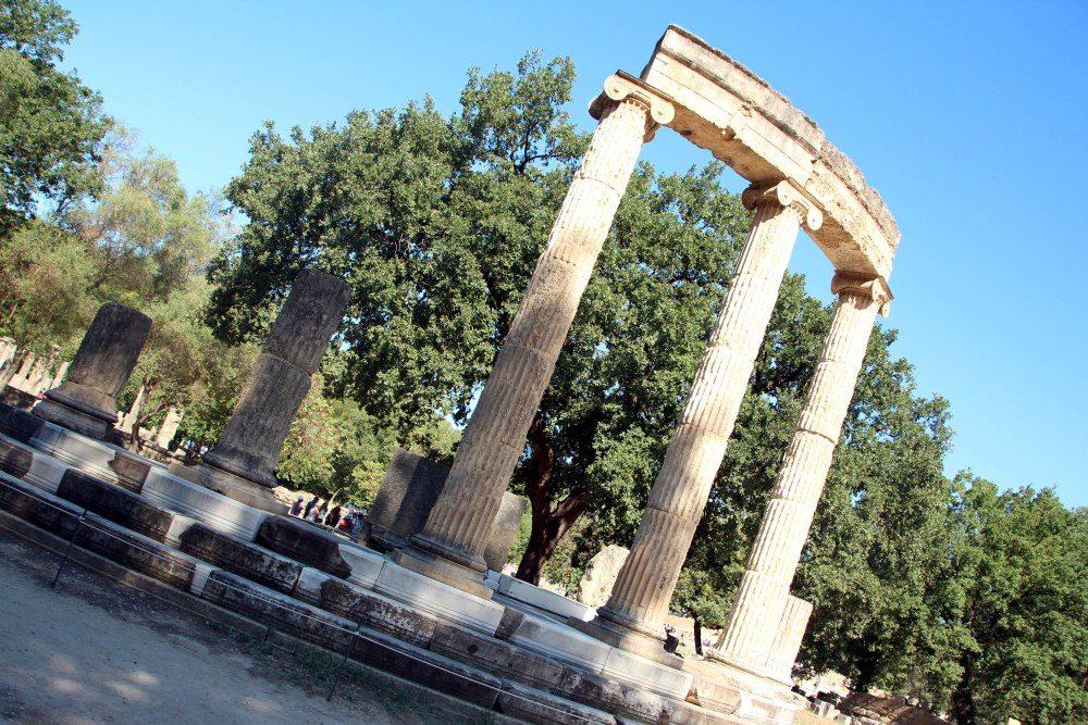 Templo Philippeion, Olimpia