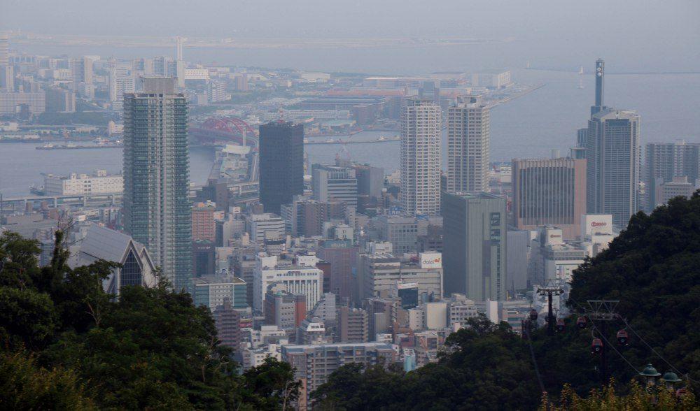 vistas de Kobe, Monte Rokko