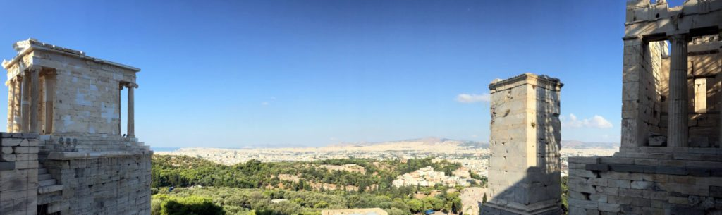vistas escalinata Acropolis