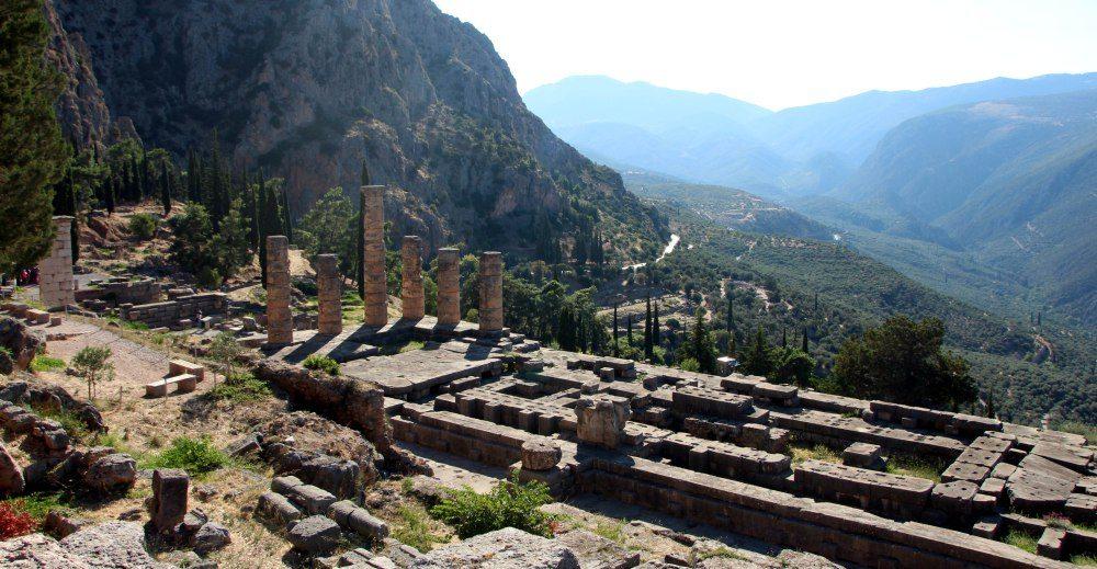 zona arqueológica, Delfos