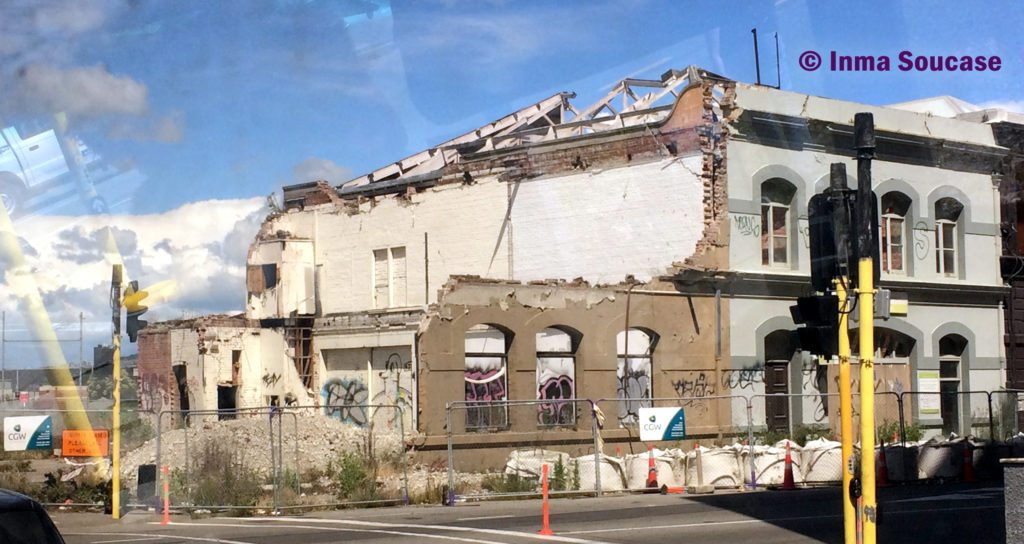 Christchurch - edificio ruinas terremoto