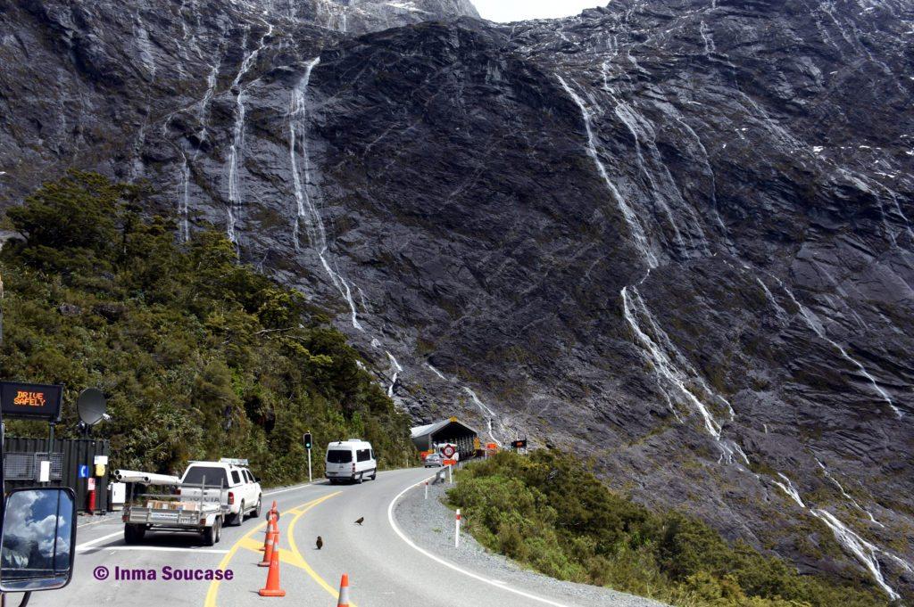 Homer Tunnel - Nueva Zelanda