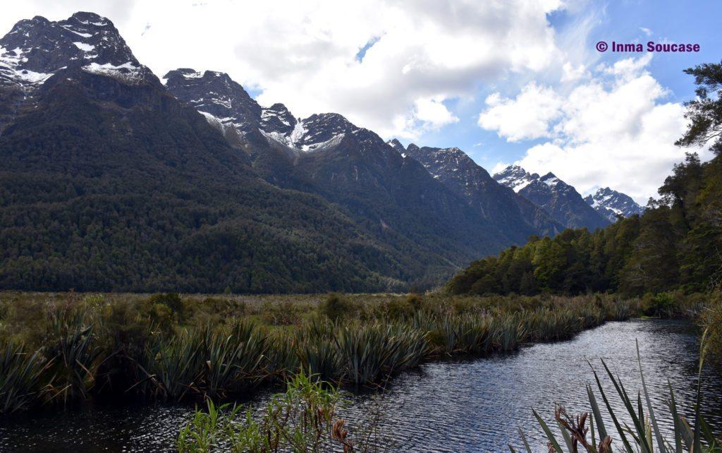 Mirror Lakes - Nueva Zelanda
