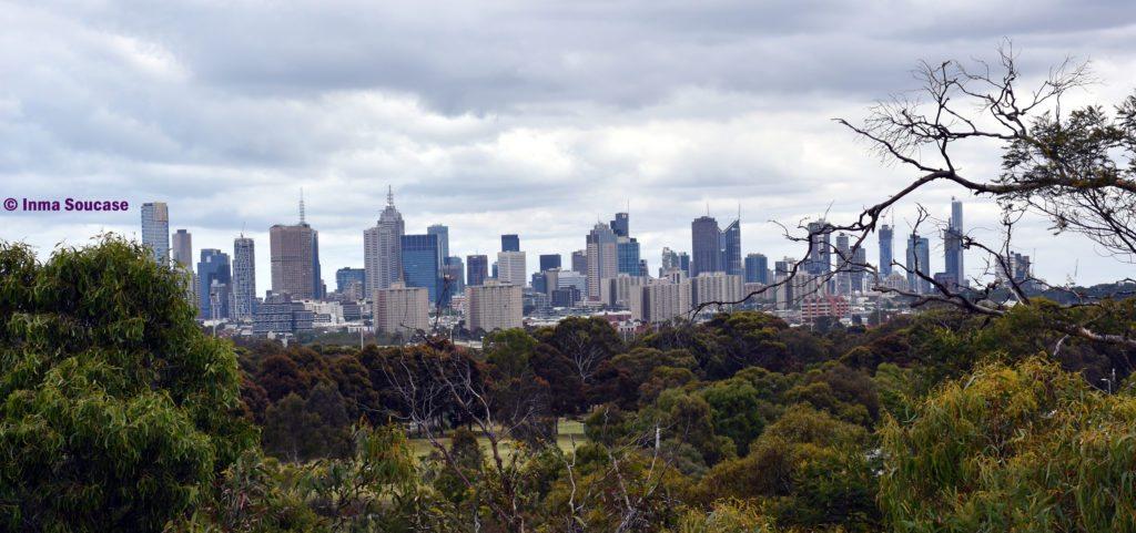 Skyline Melbourne - Yarra Bend Park
