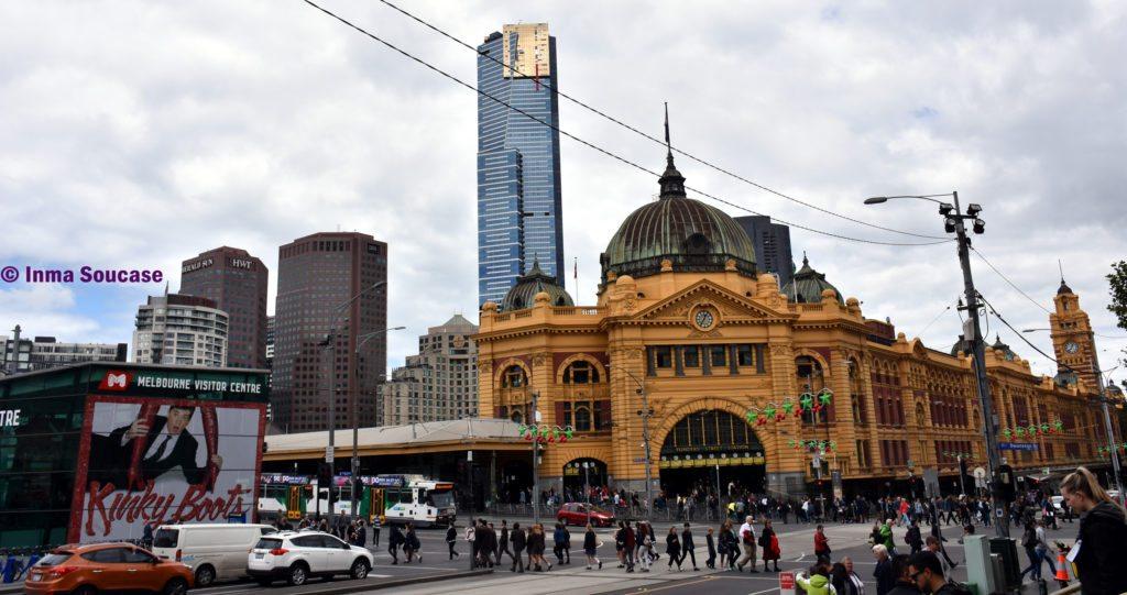 antigua estación Flinders - Melbourne