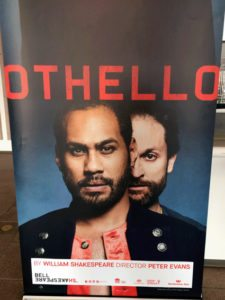 cartel teatro Othello - sidney opera house
