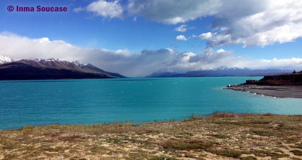lago Pukaki - Monte Cook tapado
