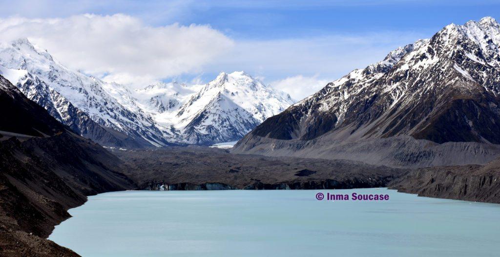 mirador Glaciar Tasman - Nueva Zelanda