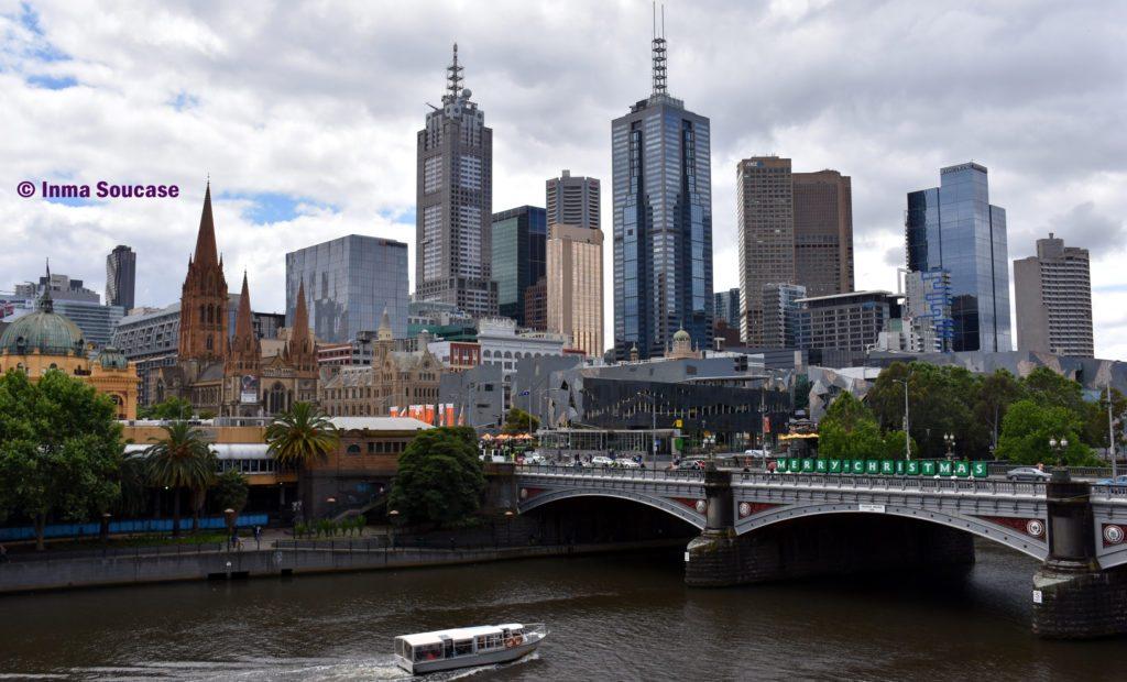 rio Yarra - skyline Melbourne