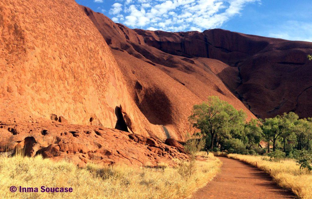ruta Mala walk - Uluru Ayers Rock Australia