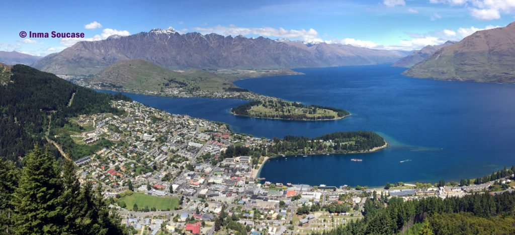 vista panoramica Queenstown