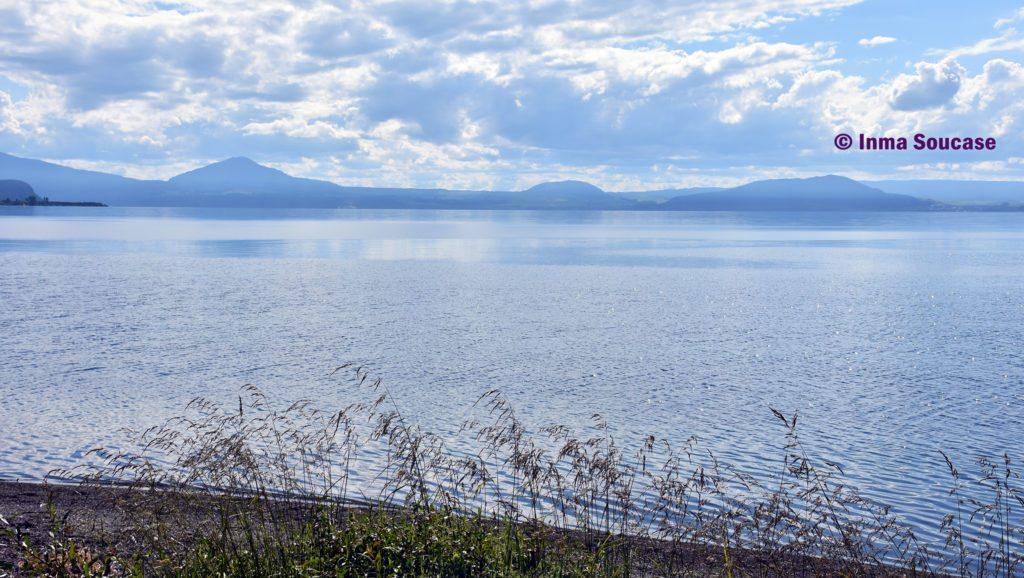Lago Taupo orilla