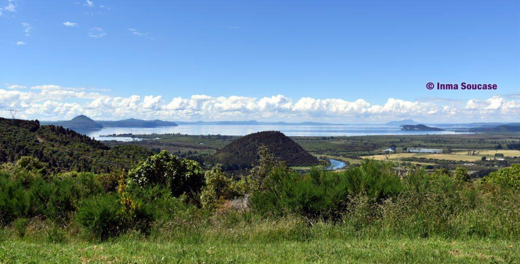Lago Taupo vistas