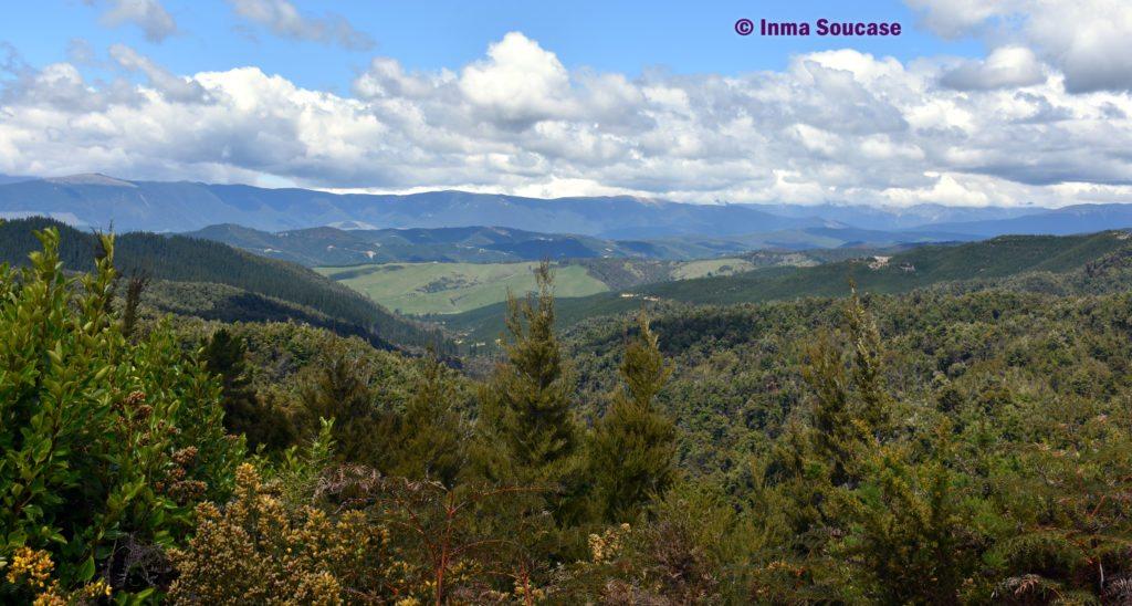 Motueka Howkes lookout - montañas