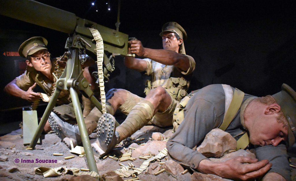 Museo Te Papa guerra gigantes