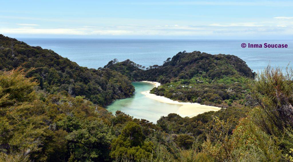 Parque Nacional Abel Tasman lago
