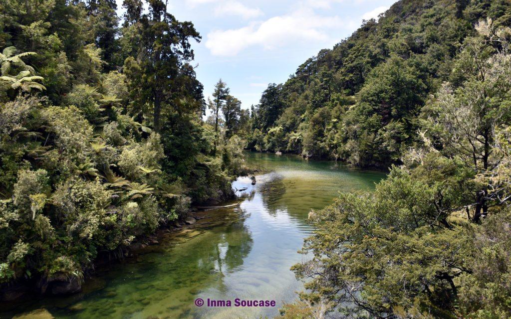 Parque Nacional Abel Tasman rio