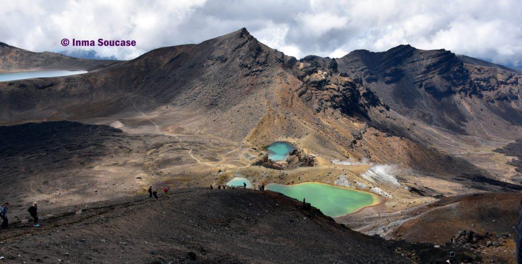 Parque Nacional Tongariro lagos