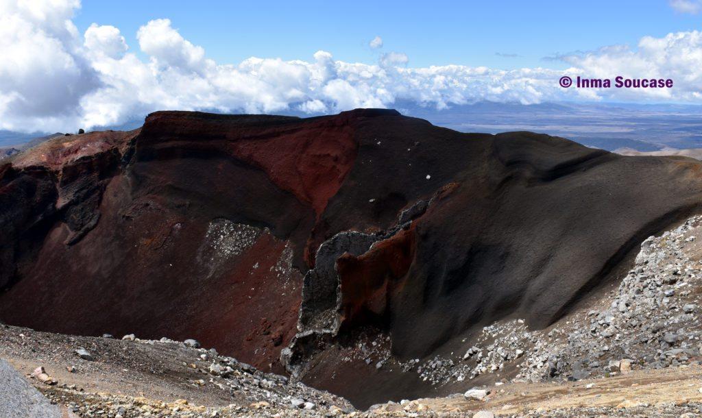Parque Nacional Tongariro rocas lava