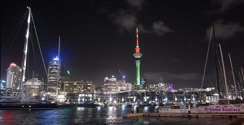 Puerto-Auckland-noche