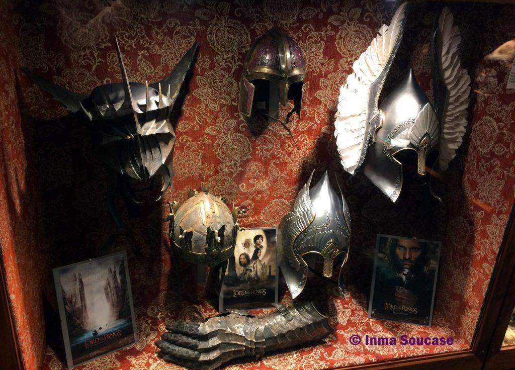 Weta cave shop museo señor anillos