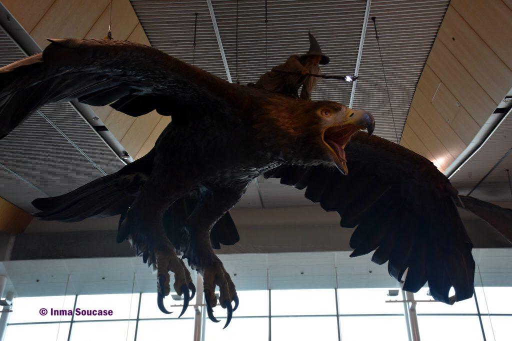 aeropuerto Wellington Gandalf aguila